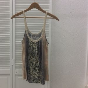 Anthropologie Ecote Gathered Tank- Size S